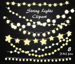 Lights clipart string light