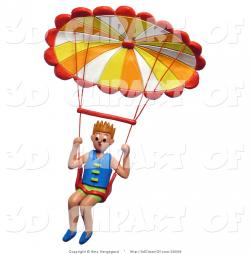 Skydiving clipart hang gliding