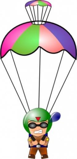Parachute clipart chute