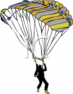 Parachute clipart animated
