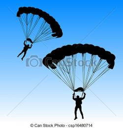 Parachute clipart skydiving