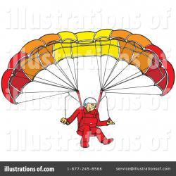 Parachute clipart paragliding