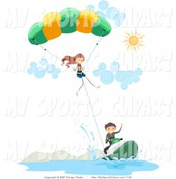 Parachute clipart parasail