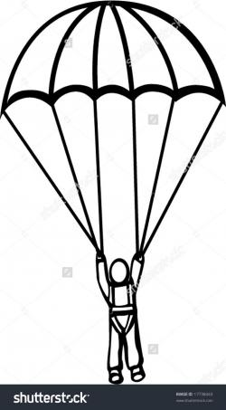 Adventure clipart skydiving parachute