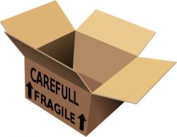 Box clipart shipping box