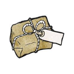 Parcel clipart cartoon