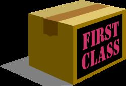 Parcel clipart first class