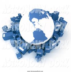 Parcel clipart international