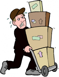 Parcel clipart package delivery