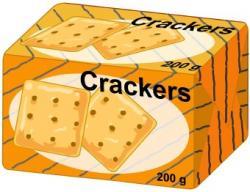 Cracker clipart food