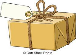Parcel clipart small box
