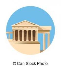 Parthenon clipart courthouse
