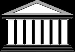 Temple clipart greek pillar