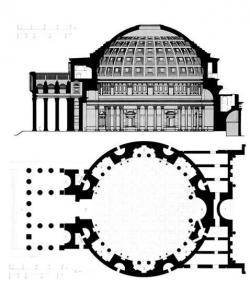 Parthenon clipart pantheon