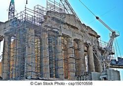 Parthenon clipart