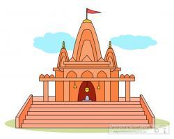Shrine clipart hindu mandir