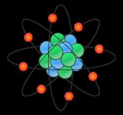 Science clipart chemistry atom