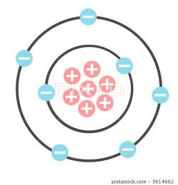 Particle clipart electron