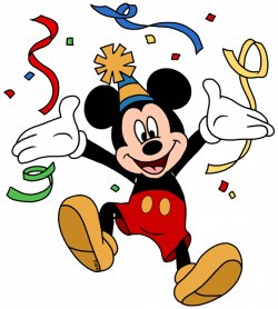 Mickey Mouse clipart part