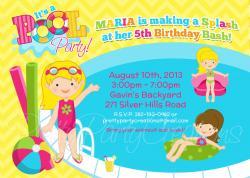 Amusement Park clipart pool party