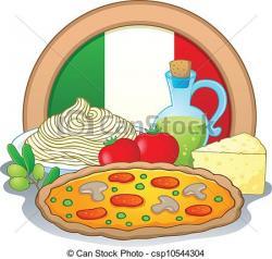 Italian clipart Italian Food Clipart