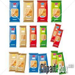 Spaghetti clipart packet
