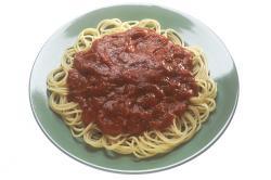 Sause clipart plate spaghetti