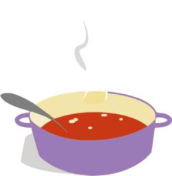 Sause clipart spaghetti