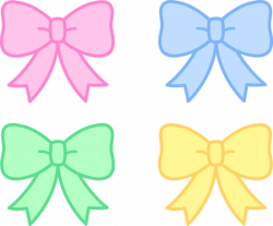 Pink Hair clipart girly bow