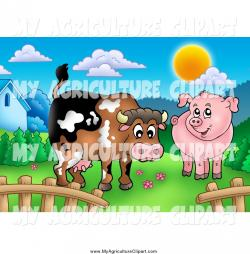 Pasture clipart cartoon
