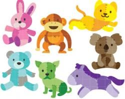 Patchwork clipart animal