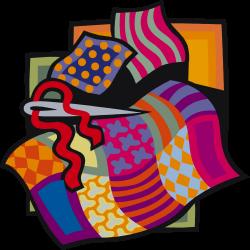 Blanket clipart quilt