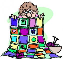 Patchwork clipart knitting