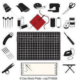 Sewing Machine clipart patchwork quilt