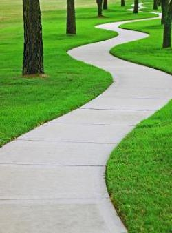 Walkway clipart journey path