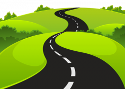 Valley clipart pathway