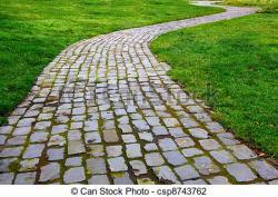 Sidewalk clipart walkway