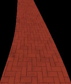 Pathway clipart brick path