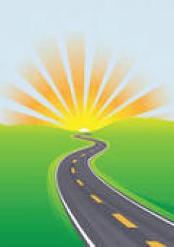 Pathway clipart bright future