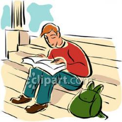 Pathway clipart college student