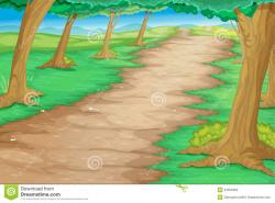 Pathway clipart dirt path