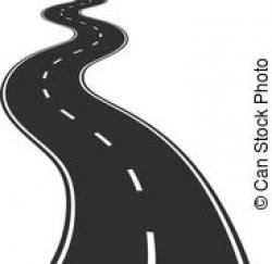 Footprint clipart road path