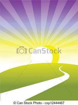 Pathway clipart land