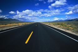 Asphalt clipart open road