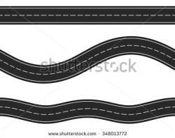 Asphalt clipart race track road