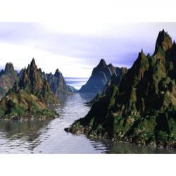 Valley clipart wilderness