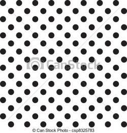 Dots clipart big black