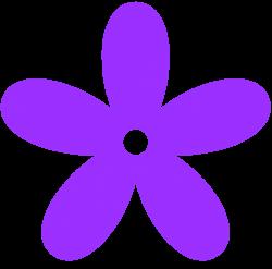 Purple Flower clipart 70 flower