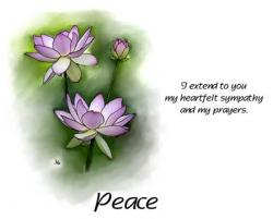 Peace Dove clipart sympathy