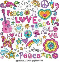 Peace Dove clipart groovy
